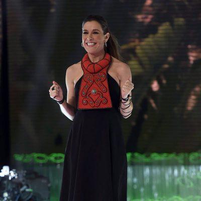 Raquel Sánchez Silva luce embarazo en 'Supervivientes 2015'