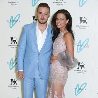 Liam Payne con su novia Sophia Smith en la gala benéfica Great Gatsby Charity Ball 2015