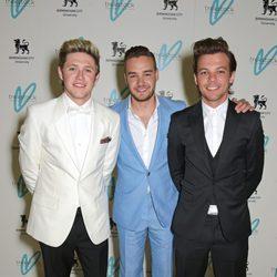 Niall Horan, Liam Payne y Louis Tomlinson en la gala benéfica Great Gatsby Charity Ball 2015
