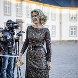 Helle Thorning-Schmidt en la cena de gala por el 75 cumpleaños de la Reina Margarita de Dinamarca
