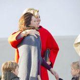 Mary de Dinamarca y Máxima de Holanda, abrazadas en el 75 cumpleaños de Margarita de Dinamarca