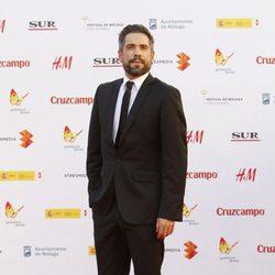 Unax Ugalde en la inauguración del Festival de Málaga 2015