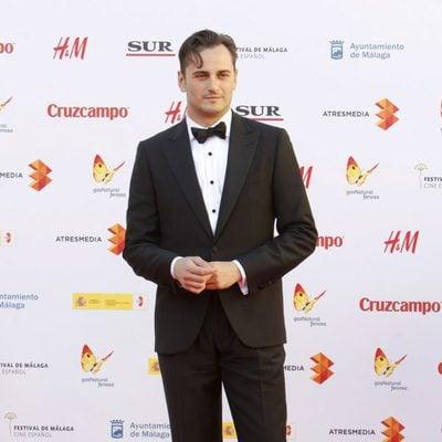 Asier Etxeandia en la inauguración del Festival de Málaga 2015
