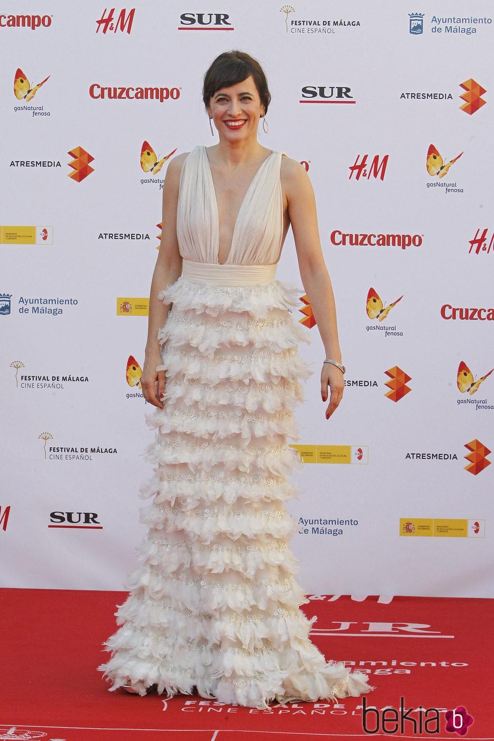 Ana Turpin en la inauguración del Festival de Málaga 2015