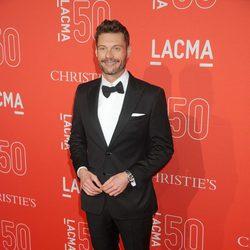 Ryan Seacrest en la gala del 50 aniversario del LACMA