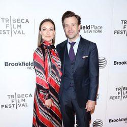 Olivia Wilde y Jason Sudeikis en el Festival de Cine de Tribeca
