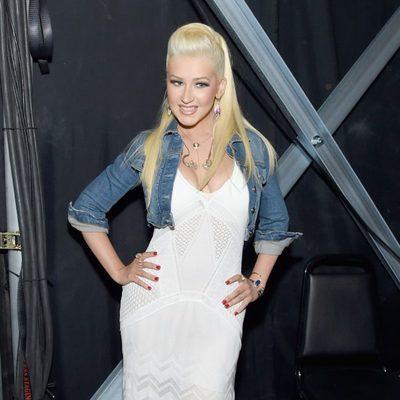 Christina Aguilera en los ACM Awards 2015