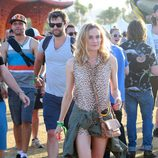 Diane Kruger en el segundo fin de semana del Coachella 2015