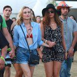Diane Kruger y Nina Dobrev en el segundo fin de semana del Coachella 2015