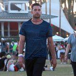 El actor Scott Speedman en el segundo fin de semana del Coachella 2015