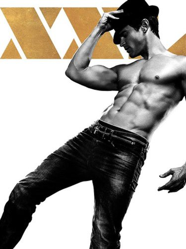 Póster individual de Matt Bomer en 'Magic Mike XXL'