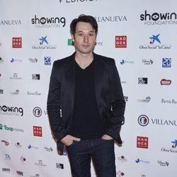 Raúl Fernández en el Showing Film Awards
