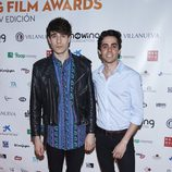 Javier Calvo y Javier Ambrossi en el Showing Film Awards