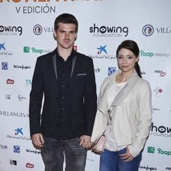 Gonzalo Ramos y Sofía Escobar en el Showing Film Awards