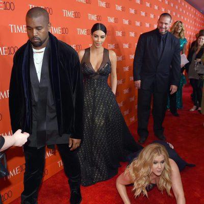 Kanye West y Kim Kardashian no se inmutan ante la broma de Amy Schumer