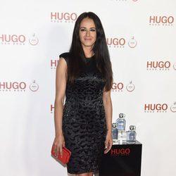Mónica Estarreado en la presentación del perfume 'Hugo Woman'