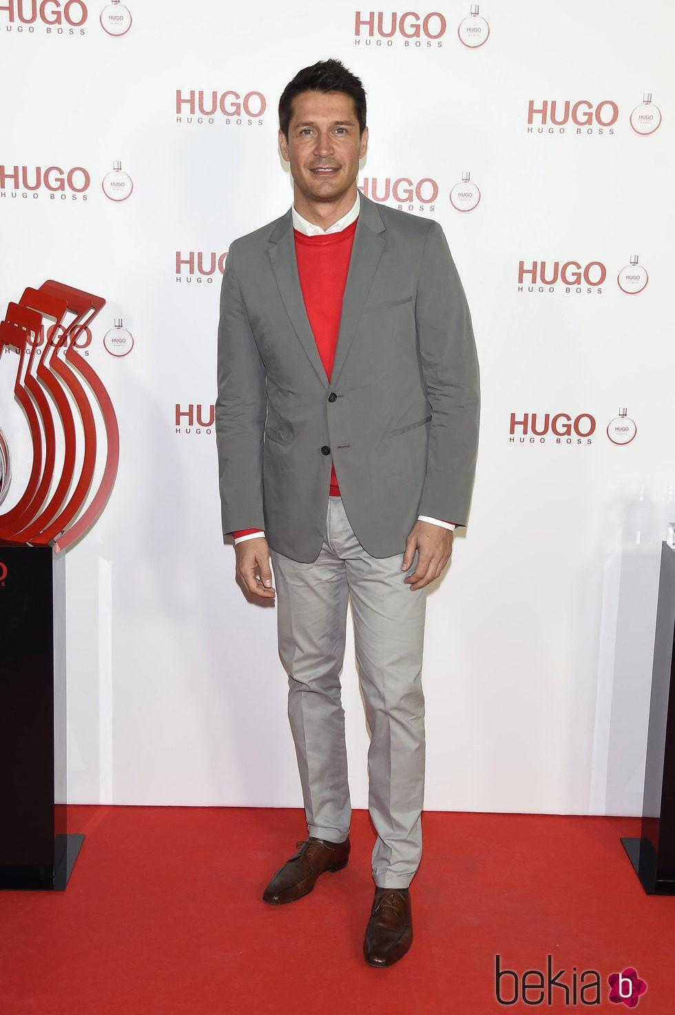 Jaime Cantizano en la presentación del perfume 'Hugo Woman'