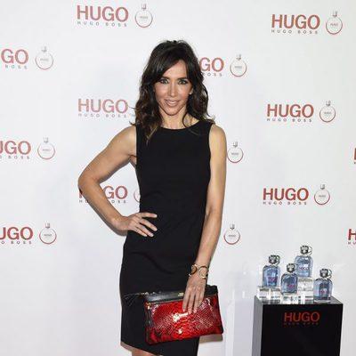Paloma Lago en la presentación del perfume 'Hugo Woman'
