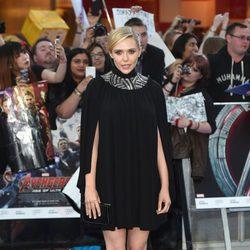 Elizabeth Olsen en el estreno de 'Los Vengadores: la era de Ultron' en Londres