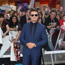 Jeremy Renner en el estreno de 'Los Vengadores: la era de Ultron' en Londres