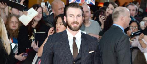 Chris Evans en el estreno de 'Los Vengadores: la era de Ultron' en Londres