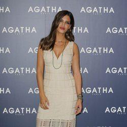 Sara Carbonero presentando la nueva colección de Ágatha París