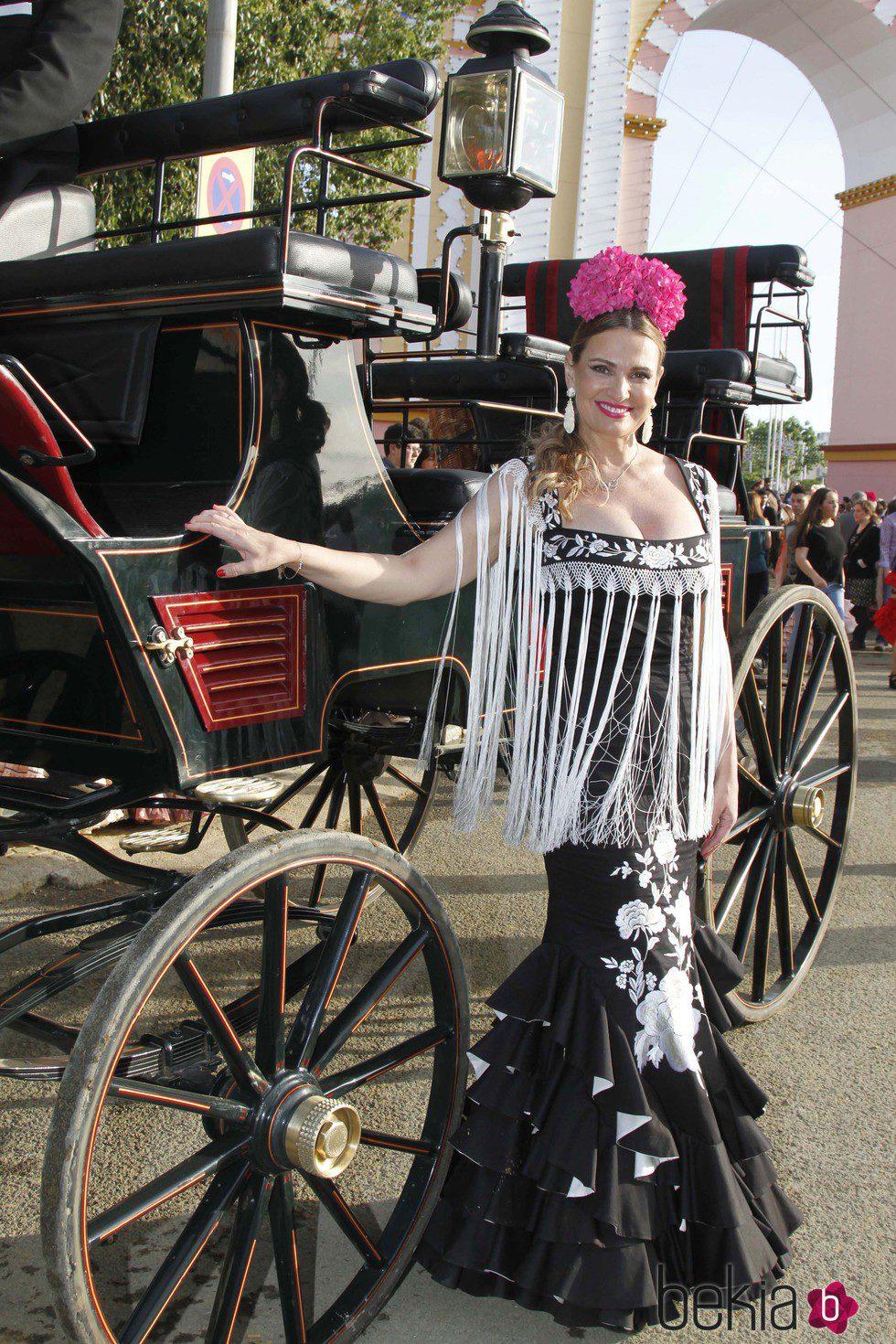 Ainhoa Arteta en la Feria de Abril 2015