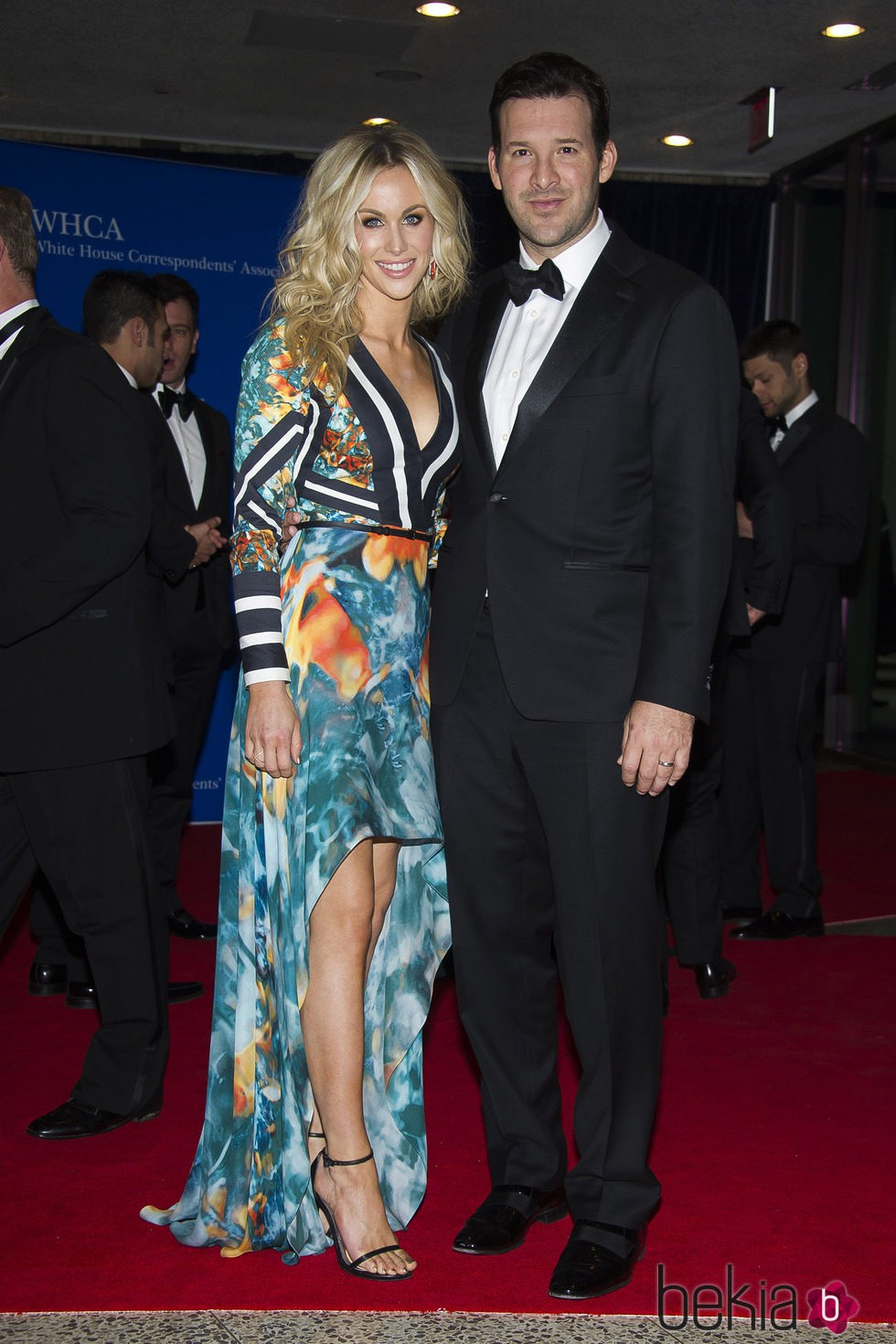 Candice Crawford y Tony Romo en la Cena de Corresponsales de la Casa Blanca 2015