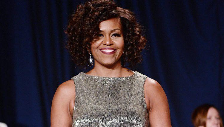 Michelle Obama en la Cena de Corresponsales de la Casa Blanca 2015
