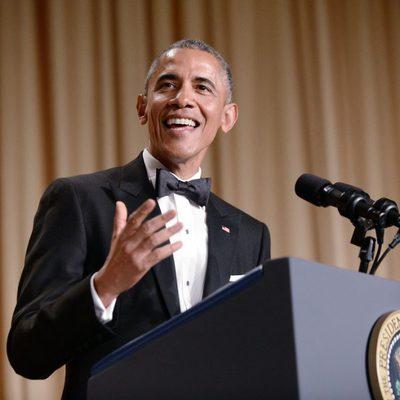 Barack Obama en la Cena de Corresponsales de la Casa Blanca 2015