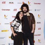 Nerea Barros y Juan Ibáñez en el Festival de Málaga 2015