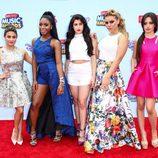 El grupo Fifth Armony en la gala de los 'Radio Disney Music Awards' 2015