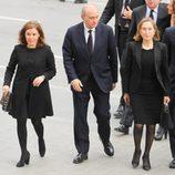 Soraya Sáenz de Santamaría, Jorge Fernández Díaz y Ana Pastor en el funeral institucional por las víctimas del accidente de avión de Germanwings