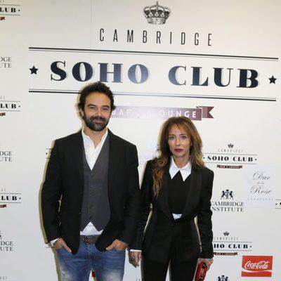 María Patiño y Ricardo Rodríguez en el estreno de 'La cara del diablo'
