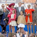 La Familia Real Holanda en el Día del Rey 2015