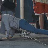 Zac Efron haciendo flexiones antes de empezar a rodar 'Dirty Grandpa'