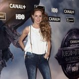 María Castro en la apertura de la exposición de 'Juego de Tronos'