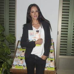 Mónica Estarreado en la presentación del libro 'Yo sí que como'