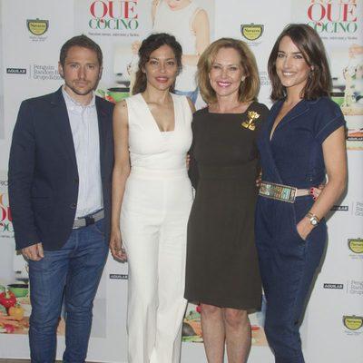 Manuel Martos, Ana Rodríguez y Ana Bono acompañan a Patricia Pérez en la presentación de su libro
