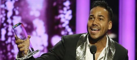 Romeo Santos en la gala de los Billboard Latin Music Awards 2015