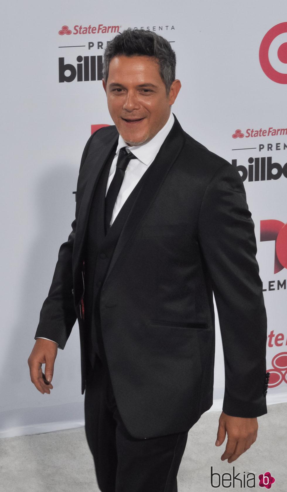 Alejandro Sanz en los Billboard Latin Music Awards 2015