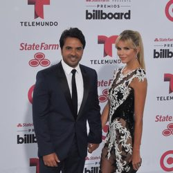 Luis Fonsi y Águeda López en los Billboard Latin Music Awards 2015