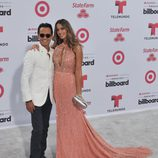 Marc Anthony y Shannon De Lima en los Billboard Latin Music Awards 2015