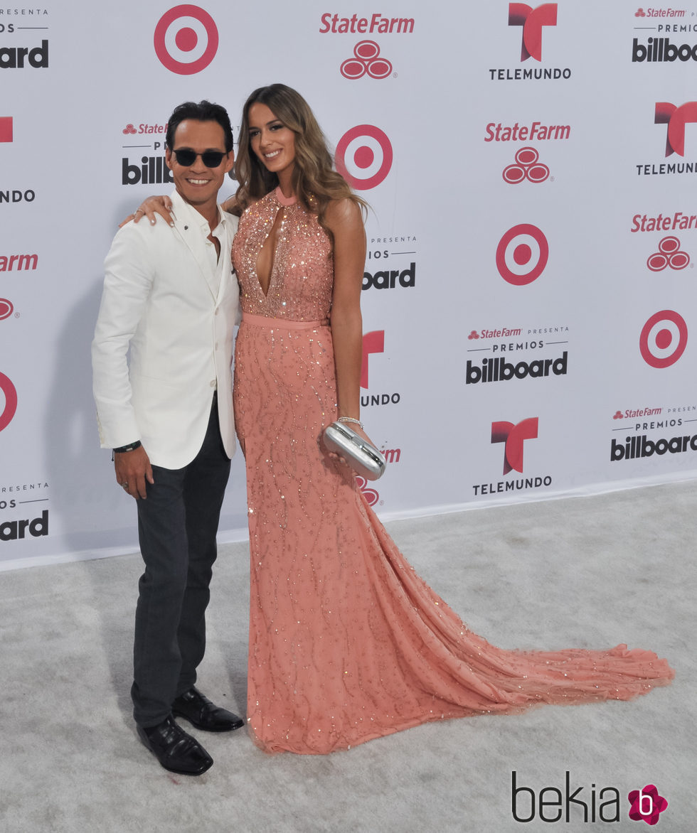 Marc Anthony y Shannon De Lima en los Billboard Latin Music Awards 2015