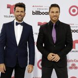 Fede y Tiago en los Billboard Latin Music Awards 2015