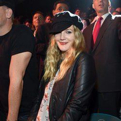 Drew Barrymore en el 'Combate del Siglo' en Las Vegas