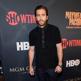 Jake Gyllenhaal en el 'Combate del Siglo' en Las Vegas