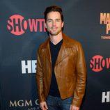 Matt Bomer en el 'Combate del Siglo' en Las Vegas