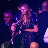 Paris Hilton en el 'Combate del Siglo' en Las Vegas