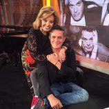 Alejandro Sanz con María Teresa Campos en '¡Qué tiempo tan feliz!'